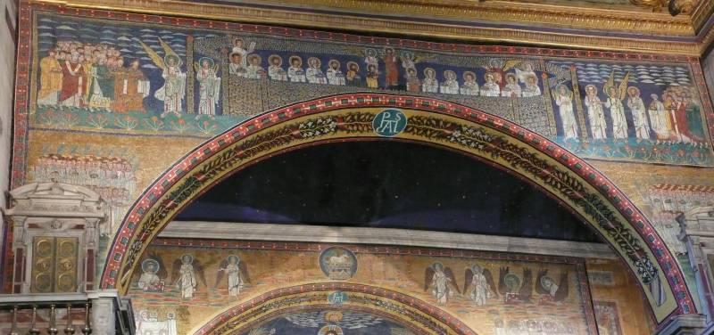 mosaici a roma